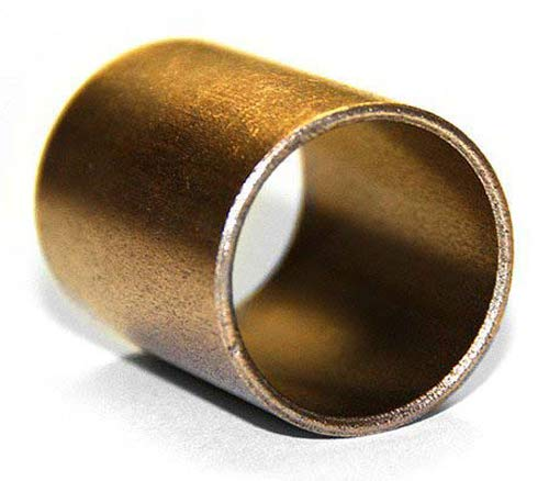 """Manitou Bearing Bronze Bushing (Straight) 1"""" Inner Diameter(I.D) and 1 1/4"""" Outer Diameter(O.D) with 1"""" Length, Oil Filled, Self Lubricating, 153135"""