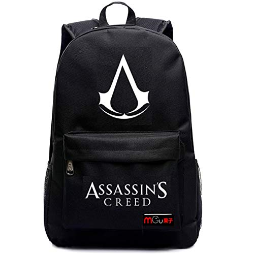 Augyue Rucksack für Assassin's Creed Cosplay mehrfarbig 2 Medium