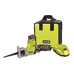 Ryobi 5133001160 Batterij Compact Saw Type RRS12011L, 12 V, Zwart, Groen*