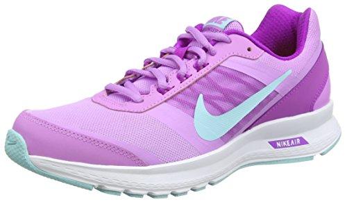 Nike Air Relentless 5 - Zapatillas de Running para Mujer, Color Fucsia/Morado/Blanco, Talla 40.5