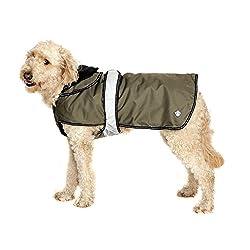 Danish Design 2 In 1 Khaki Four Seasons Performance Dog Coat Khaki Made by Danish Designs
