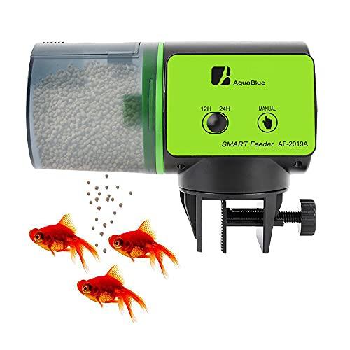 YeenGreen Aquarium Feeder, 200ml Futterautomaten für Aquarien Automatisierte Futterspender Fisch Futterautomat Aquarium Mit Geeignet Für Wochenende Urlaub