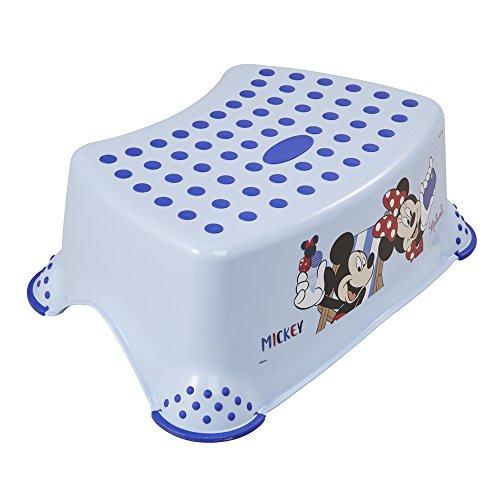 keeeper Tabouret Disney Mickey et Minnie, De 3 à 14 ans Environ, Fonction Antidérapante, Tomek, Bleu