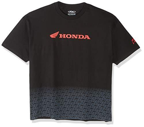 Factory Effex 15-88306 Honda' Fade T-Shirt (Black, XX-Large)