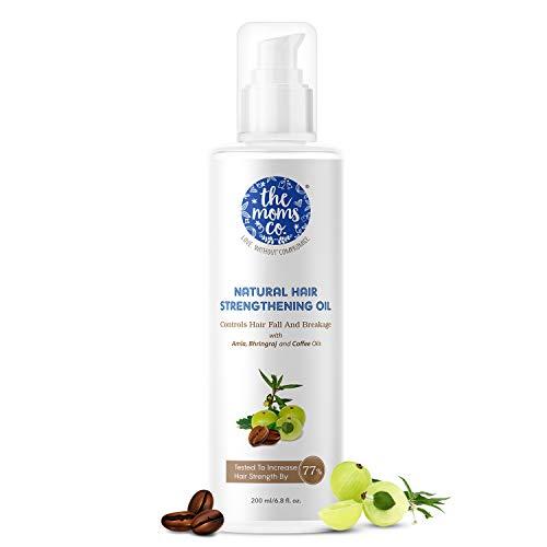 The Moms Co Natural Hair Strengthening Oil, 200 ml