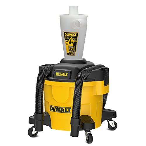 DEWALT Dust Separator with 6 Gallon Poly Tank,...