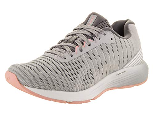 ASICS Women's Dynaflyte 3 Running Shoes, 9M, MID Grey/White