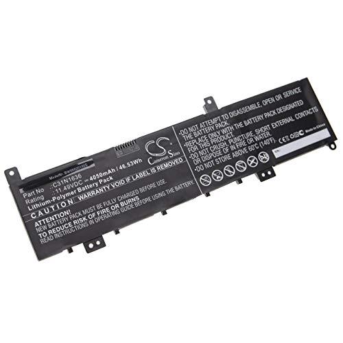 vhbw batteria compatibile con Asus VivoBook Pro 15 N580GD-E4288T, N580GD-E4382T, N580GD-E4405T laptop, notebook (4050mAh, 11.49V, Li-Poly)