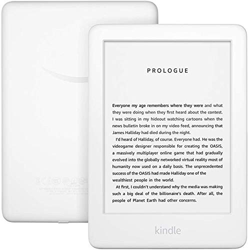 Certified Refurbished Kindle - Now with a Built-in Front Light - White - Ad-Supported