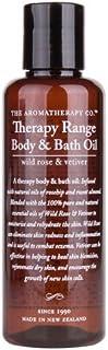 Therapy Range セラピーレンジ ボディ&バスオイル ワイルドローズ&ベチバー