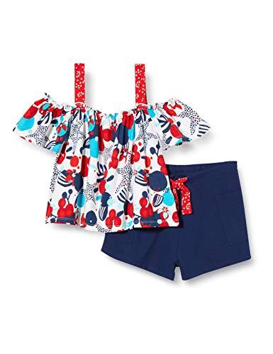 Tuc Tuc Conjunto Camiseta Estampada Y Short Punto NIÑA Azul Lost Ocean