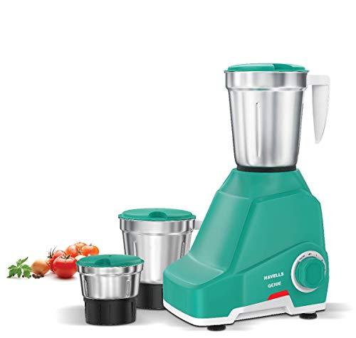 Havells Genie 500-Watt Juicer Mixer Grinder (Green)