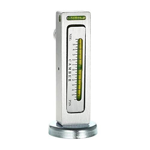 Haikellos Nuevo Ajustable indicador magnético Herramienta Camber Castor puntal de alineación de Ruedas del Carro del Coche Herramienta de Medición
