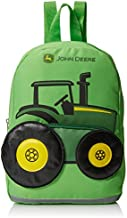 John Deere Boys' Tractor Toddler Backpack, Lime Green, One Size
