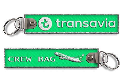 Transavia Airlines - Llavero bordado