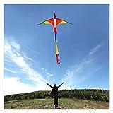 RXZUIWEI Cometa Nuevo 3M Firebird Suizo Kite para Adultos Flamingo Kite Kevlar Line Kite Training Cometa (Color : 3pcs)