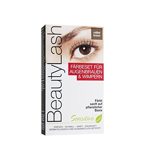 Beauty Lash Färbeset Sensitive mittelbraun, 1 Stück