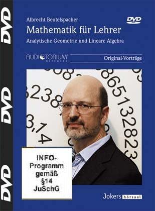 Mathematik für Lehrer - 5 DVDs - Analytische Geometrie und lineare Algebra