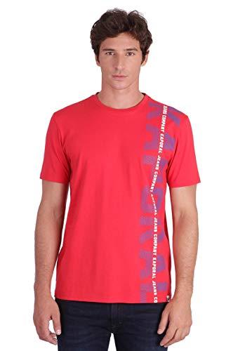 KAPORAL OLARK T-Shirt, Rosa (Cherry M11 Cherry), S Uomo
