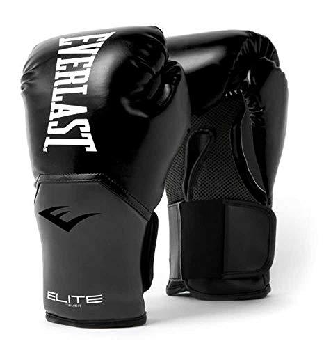 EVERLAST Elite Gants d'entraînement Noir/Gris 12 oz