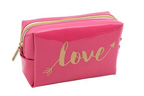 Trousse à maquillage rose Love Arrow OH SO Pretty