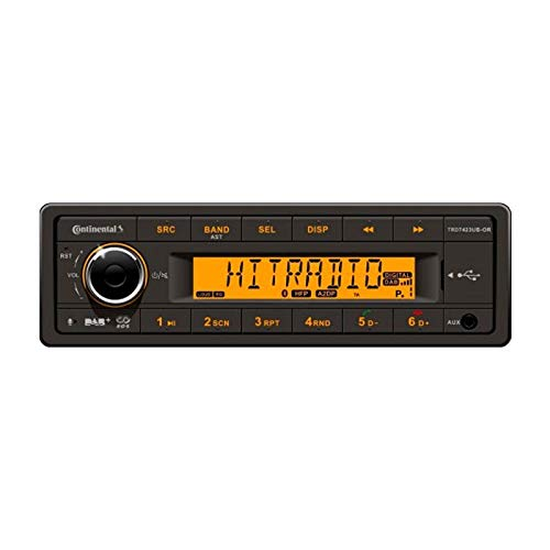 Continental TRD7423UB-OR 24 Volt - MP3-Autoradio mit DAB/Bluetooth/USB/AUX-IN