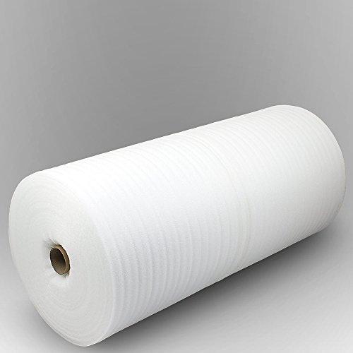 50m² 3mm Trittschalldämmung PE-Schaumfolie Dämmung Unterlage Laminat Parkett