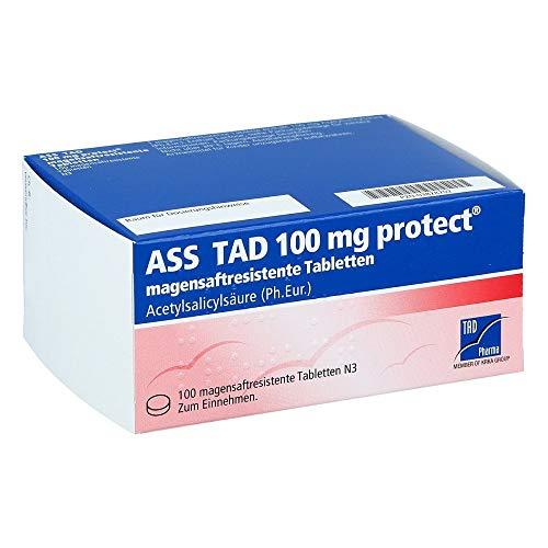 ASS TAD 100 mg protect magensaftres.Filmtabletten 100 St Filmtabletten magensaftresistent 100 St Filmtabletten magensaftresistent