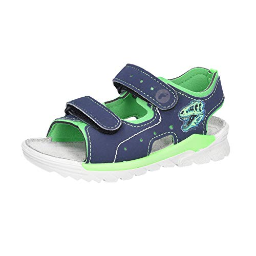 RICOSTA Kinder Schuhe Surf,Nautic/neongrün 69 4532500 565 blau 627204
