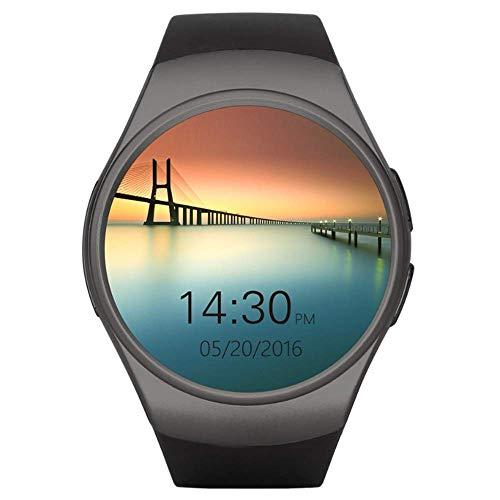YFWDY Smart Watch Fitness-Tracker Bluetooth-Wasserdichte Sportler für Männer und Frauen mit Pulsmesser und Aktivitätsmonitor für Schlafmonito