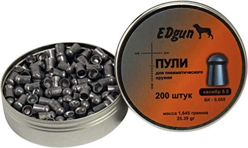 EDgun BALINES Premium Monster Calibre .22 (5,52 MM) · Peso 1,645G (25,39GR)