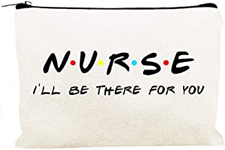 Kimoli Nursing Student Gifts Nurse Practitioner Nurses School Supplies Gifts Cosmetic Bag Travel Bag for Women Girls