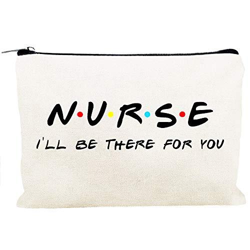 Kimoli Nursing Student Gifts Nurse Practitioner Nurses School Supplies Gifts Cosmetic Bag Travel Bag for Women Girls