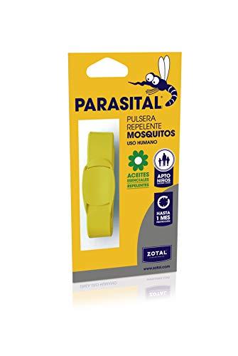 Parasital Pulsera Repelente de Mosquitos, Amarillo - 1 Unidad