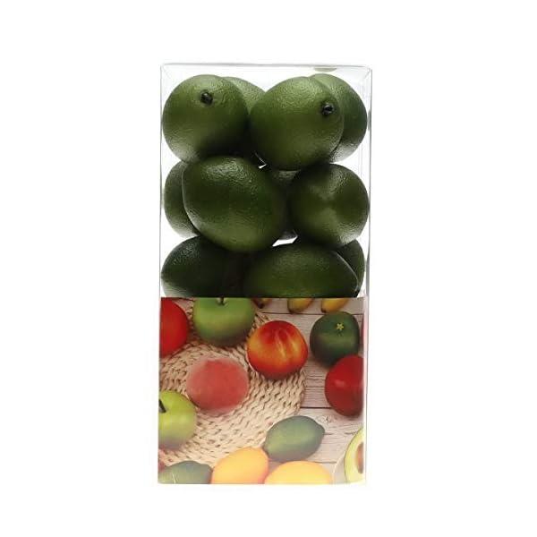 Gresorth 20 pcs Artificial Lemon Decoration Simulation Fake Fruit for Home Kitchen Birthday Party Christmas Display