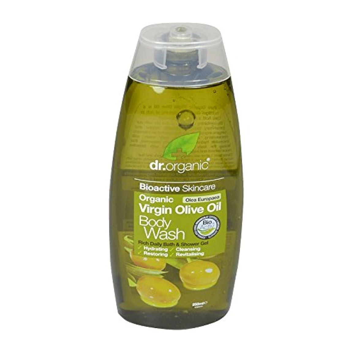 かろうじて遠近法奨励しますDr Organic Virgin Olive Oil Body Wash (Pack of 6) - Dr有機バージンオリーブオイルボディウォッシュ (x6) [並行輸入品]