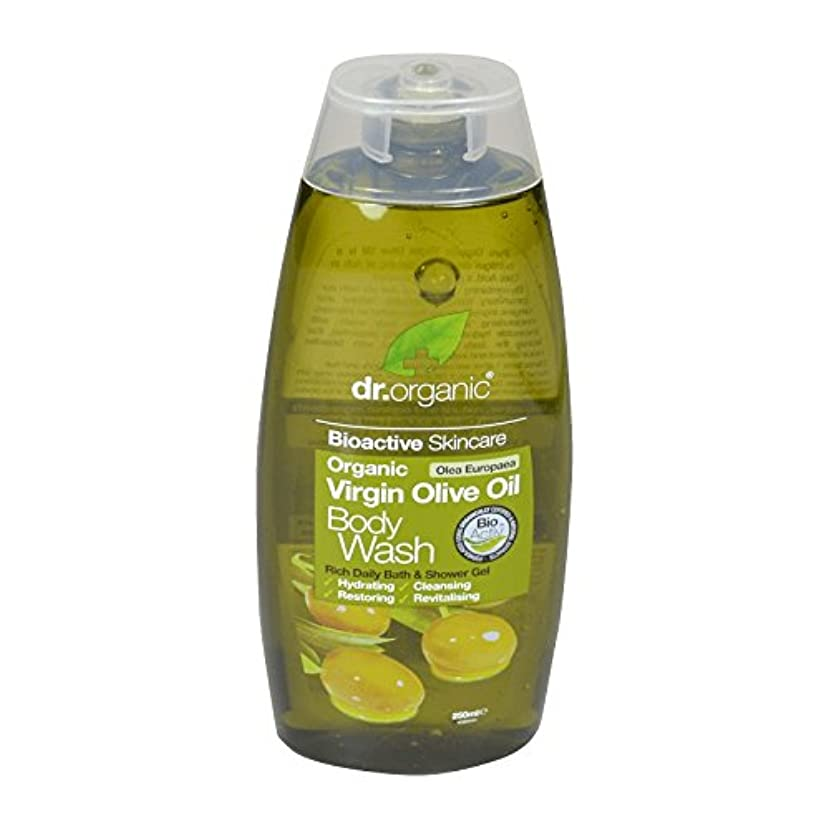 藤色脱走機動Dr Organic Virgin Olive Oil Body Wash (Pack of 6) - Dr有機バージンオリーブオイルボディウォッシュ (x6) [並行輸入品]