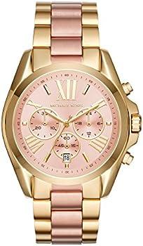 Michael Kors Women's Bradshaw Stainless Steel Chronograph Watch