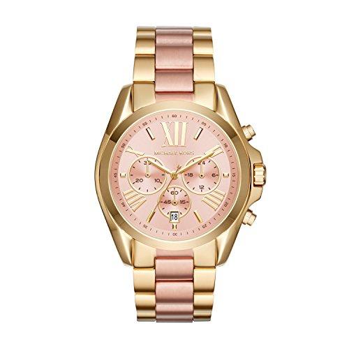 Michael Kors Reloj Cronógrafo para Mujer de Cuarzo con Correa en Acero Inoxidable MK6359