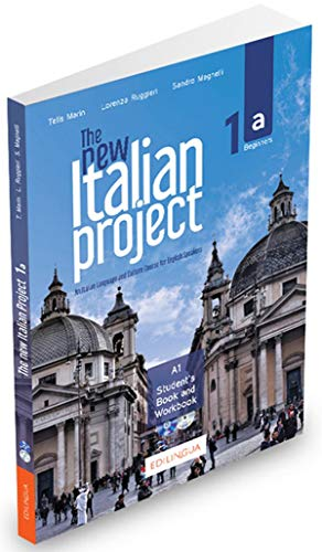 THE NEW ITALIAN PROJECT 1A-AN ITALIAN COURSE FOR ENGLISH SPEAKERS-STUDENT BOOK/WKBK/DVD/AUDIO CD