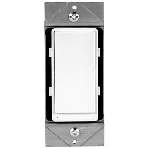 ENERWAVE ZW3K-N Add-On Switch for Z-Wave Home Automation Light/Fan Switches, NOT a standalone Z-Wave switch, requires Z-Wave switch to work