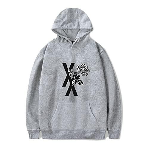 BBCS Imprimir MGK Logo Machine Gun Kelly Hoodies Hombres Mujeres Sudadera Nuevo Álbum Hip Hop Ropa Fans Sudadera con Capucha Machine Gun Kelly