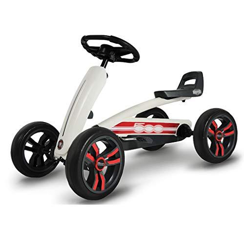 Kart Cuatro Ruedas De Los Niños del Asiento del Pedal Kart Bicicletas De Tres Velocidades De Ajuste De Juguete Que Compite con La Compra De Dirección Diseño Rueda