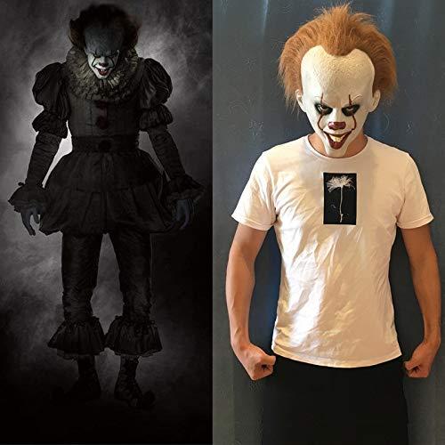 Stephen Kings Es Masque Latex Kostüm Masken Halloween Film Cosplay Maske Erwachsene Party Requisiten