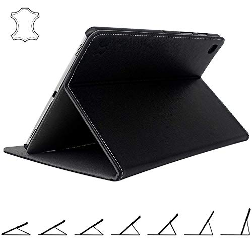 Galaxy Tab S5e Case Genuine Leather - Smart Book Cover with Best Multi-Angle Stand for 2019 Samsung SM-T720 & T725 10.5-inch