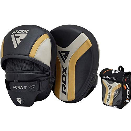 RDX Punch Mitts Aura Focus Pads | Great for Boxing,MMA,Kickboxing,Mixed Martial Arts,Muay...
