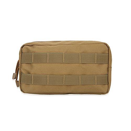 Sac Mtilitaire Imperméable en Nylon Militaire de la Poche 1000D de l'Armée 3Couleurs (kaki )