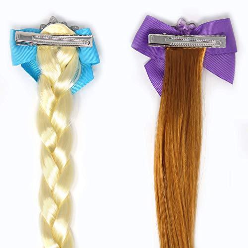 BFF Faux Hair Braid Elastic Pony Set frozen 2