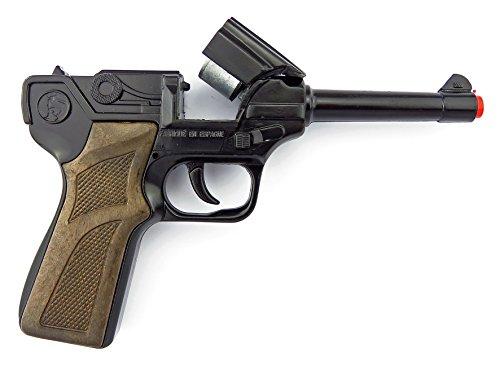 Gonher 124/6 - Pistola delle Forze di Polizia a 8 Colpi, Nera