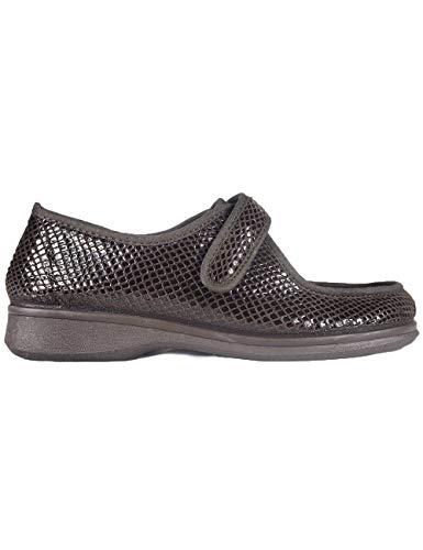 Zapatillas de Estar por casa para Mujer Especial para Personas Mayores Ancianos Ancho Especial Campello 5597 Marrón - Color - Marrón, Talla - 39